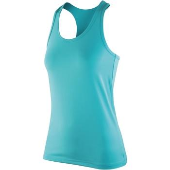 Textiel Dames Mouwloze tops Spiro S281F Pepermunt