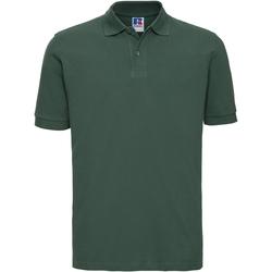 Textiel Heren Polo's korte mouwen Russell 569M Fles groen