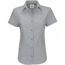 Textiel Dames Overhemden B And C SWO04 Zilver Moon