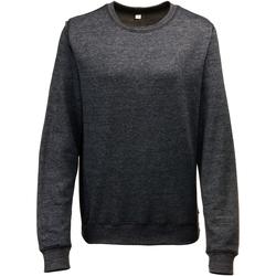 Textiel Dames Sweaters / Sweatshirts Awdis Heather Zwarte Heide