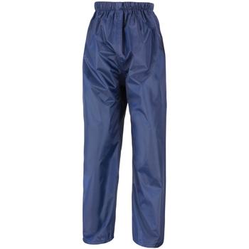 Textiel Heren Trainingsbroeken Result Stormdri Marineblauw