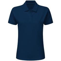 Textiel Jongens Polo's korte mouwen Sg SG59K Marineblauw
