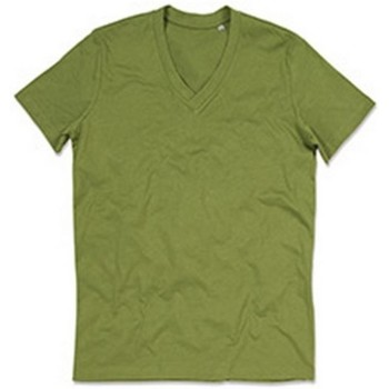 Textiel Heren T-shirts korte mouwen Stedman Stars Organic Lichtgroen