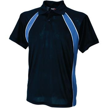 Textiel Heren Polo's korte mouwen Finden & Hales Jersey Marine / Loyaal / Wit