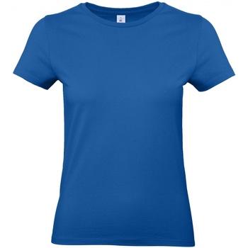 Textiel Dames T-shirts korte mouwen B And C E190 Koningsblauw