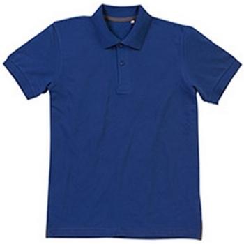 Textiel Heren Polo's korte mouwen Stedman Stars Henry Echt blauw