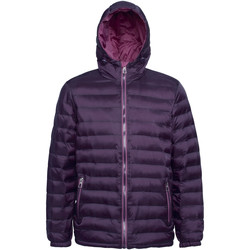 Textiel Heren Dons gevoerde jassen 2786 TS016 Aubergine/Mulberry