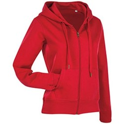 Textiel Dames Sweaters / Sweatshirts Stedman  Rood
