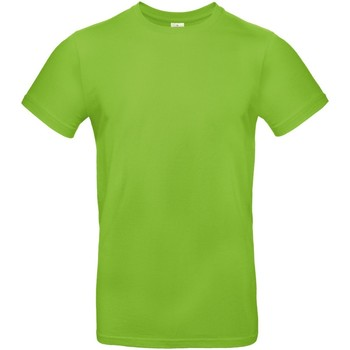 Textiel Heren T-shirts korte mouwen B And C E190 Donkergrijs