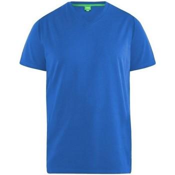 Textiel Heren T-shirts korte mouwen Duke Signature Blauw