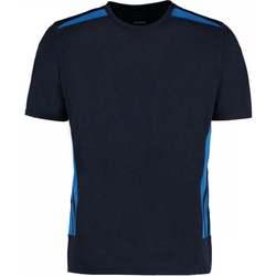 Textiel Heren T-shirts korte mouwen Gamegear KK930 Marine/Elektrisch Blauw