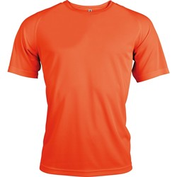 Textiel Heren T-shirts korte mouwen Kariban Proact Proact Bloemige sinaasappel