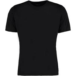 Textiel Heren T-shirts korte mouwen Gamegear Cooltex Zwart/Zwart