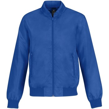 Textiel Heren Wind jackets B And C Trooper Royal Blue/ Neon Orange