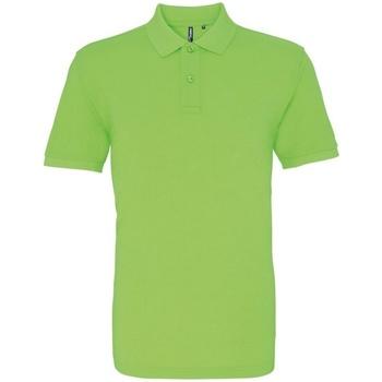 Textiel Heren Polo's korte mouwen Asquith & Fox AQ010 Neon Groen