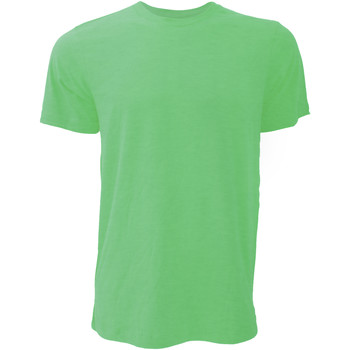 Textiel Heren T-shirts korte mouwen Bella + Canvas Jersey Heather Groen