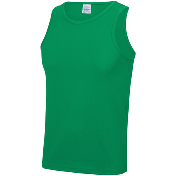 Textiel Heren Mouwloze tops Just Cool JC007 Kelly Groen