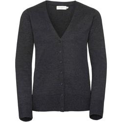 Textiel Dames Vesten / Cardigans Russell Knitted Houtskool mergel