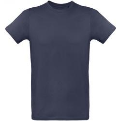 Textiel Heren T-shirts korte mouwen B And C Inspire Navy