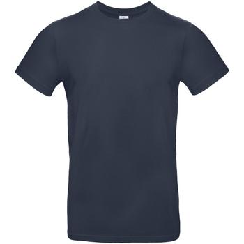 Textiel Heren T-shirts korte mouwen B And C TU03T Marineblauw