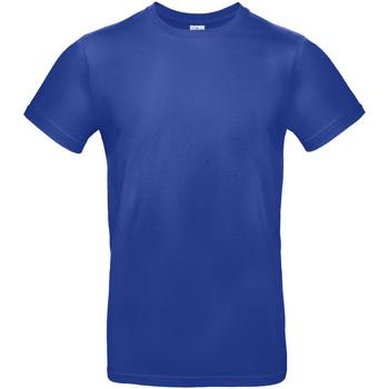 Textiel Heren T-shirts korte mouwen B And C E190 Kobaltblauw