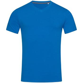 Textiel Heren T-shirts korte mouwen Stedman Stars Clive Koningsblauw