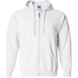 Textiel Sweaters / Sweatshirts Gildan Hooded Wit