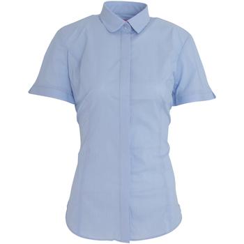 Textiel Dames Overhemden Brook Taverner Poplin Hemelsblauw