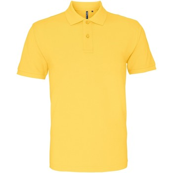 Textiel Heren Polo's korte mouwen Asquith & Fox AQ010 Mosterd