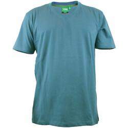 Textiel Heren T-shirts korte mouwen Duke Signature-2 Teal