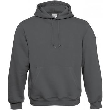 Textiel Heren Sweaters / Sweatshirts B And C Hooded Staal Grijs