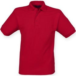 Textiel Heren Polo's korte mouwen Henbury HB400 Vintage Rood