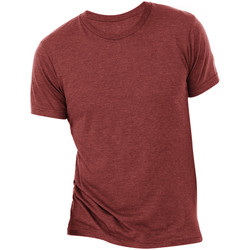 Textiel Heren T-shirts korte mouwen Bella + Canvas Triblend Kardinaal Triblend