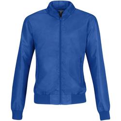 Textiel Dames Wind jackets B And C B658F Royal Blue/ Neon Orange