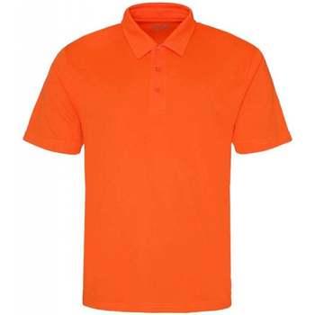 Textiel Heren Polo's korte mouwen Awdis JC040 Elektrisch Oranje