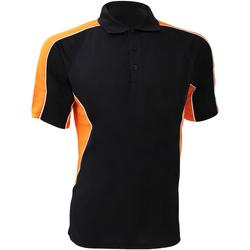 Textiel Heren Polo's korte mouwen Gamegear Active Zwart/Oranje
