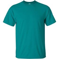 Textiel Heren T-shirts korte mouwen Gildan Ultra Jade