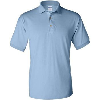 Textiel Heren Polo's korte mouwen Gildan Jersey Lichtblauw