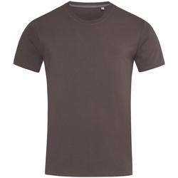 Textiel Heren T-shirts korte mouwen Stedman Stars Clive Donkere chocolade bruin