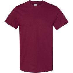 Textiel Heren T-shirts korte mouwen Gildan Heavy Marron