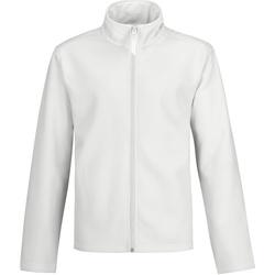 Textiel Heren Trainings jassen B And C Two Layer Witte/witte voering