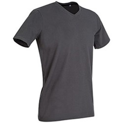 Textiel Heren T-shirts korte mouwen Stedman Stars Clive Leisteengrijs