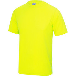 Textiel Kinderen T-shirts korte mouwen Just Cool JC01J Elektrisch Geel