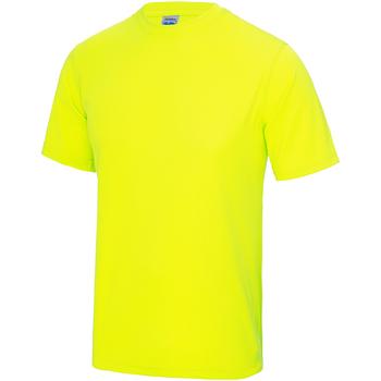 Textiel Kinderen T-shirts korte mouwen Awdis JC01J Elektrisch Geel