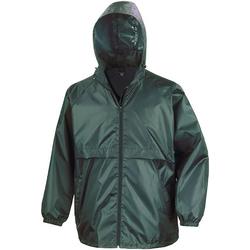 Textiel Heren Windjacken Result Windcheater Fles groen