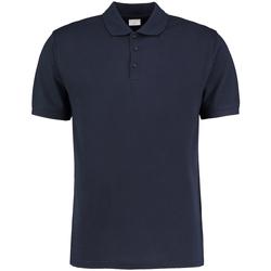 Textiel Heren Polo's korte mouwen Kustom Kit KK413 Marineblauw