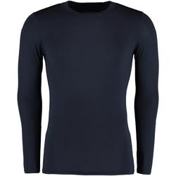 Textiel Heren T-shirts met lange mouwen Gamegear Warmtex Marineblauw