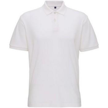 Textiel Heren Polo's korte mouwen Asquith & Fox  Wit