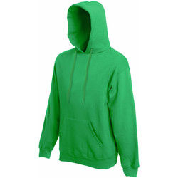 Textiel Heren Sweaters / Sweatshirts Fruit Of The Loom Hooded Kelly Groen