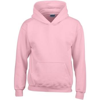 Textiel Kinderen Sweaters / Sweatshirts Gildan Hooded Lichtroze